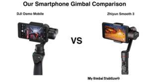 DJI Osmo Mobile vs Zhiyun Smooth 3