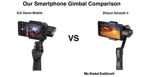 DJI Osmo Mobile Vs Zhiyun Smooth 3