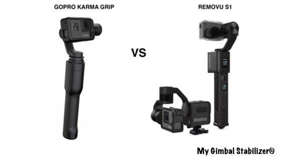 Gopro Karma Grip vs Removu S1