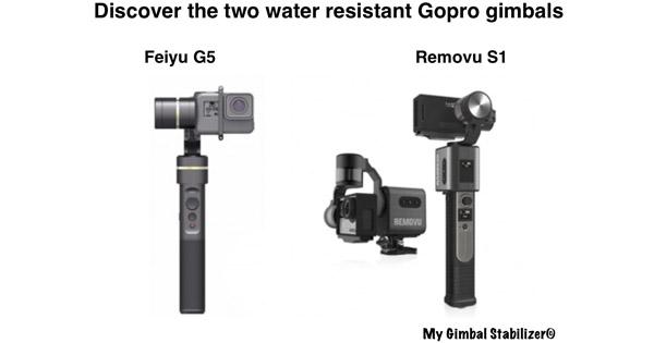 Water Resistant Gopro Gimbals