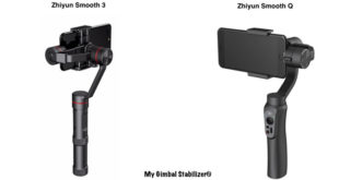 Zhiyun Smooth 3 and Q the best ?